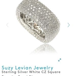 Suzy Levian Paved ring
